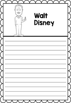 Graphic Organizer : Walt Disney