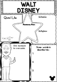 Graphic Organizer : Walt Disney