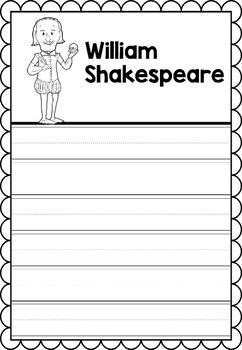 Graphic Organizer : William Shakespeare