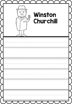 Graphic Organizer : Winston Churchill