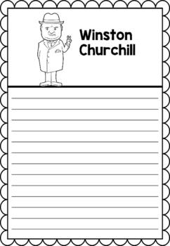 Graphic Organizer : Winston Churchill