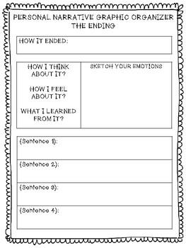 Graphic Organizer Writing Bundle