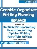 Graphic Organizer Writing Planning Pack