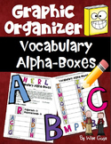 Graphic Organizer Vocabulary