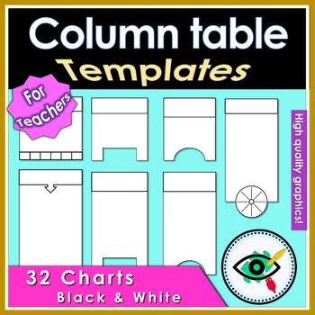 Graphic Organizer column table
