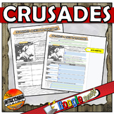 Graphic Organizer for Crusade Notes Outline Standard 7.6.6
