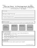 Graphic Organizer for Four Paragraph Argumentative or Info