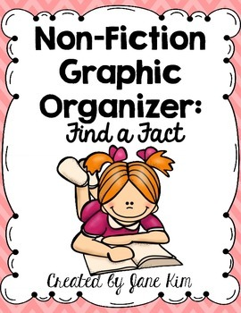 Non-Fiction Graphic Organizer: Find a Fact