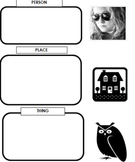 Graphic Organizer for Nouns