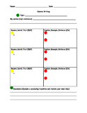 Graphic Organizer for Opinion Writing