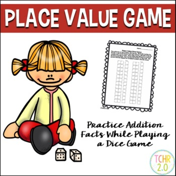 Place Value Dice Game Free