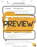 Graphic Organizer for Persuasive Essay Español AP