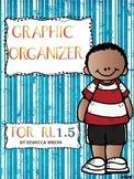 No Prep Reading Response Graphic Organizer for RL 1.5