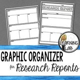 Graphic Organizer for Research Reports