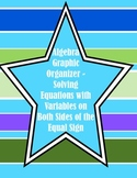 Graphic Organizer for Solving Equations with Identity and