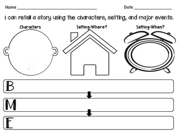 Graphic Organizer for Story Retell