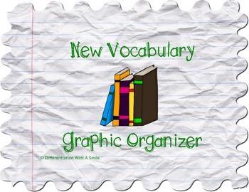 Graphic Organizer for Vocabulary