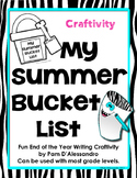 Summer Writing Craftivity - Summer Bucket List