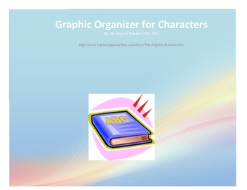 Graphic Organizer for Characters