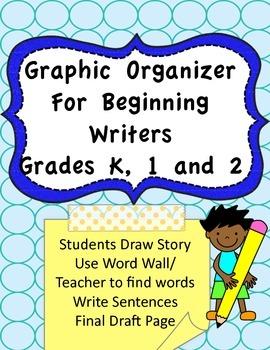 Graphic Organizer for Beginning Writers