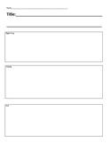 Graphic Organizer - story