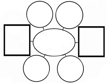 Graphic Organizer web square