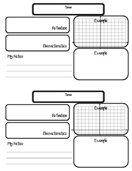 Graphic Organizer (with graph)