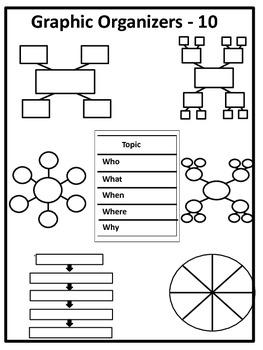 Graphic Organizers - 10