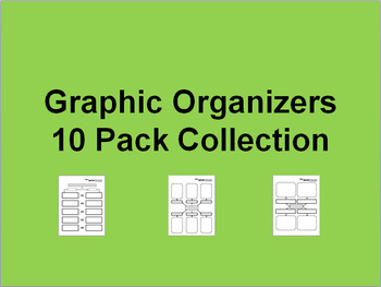 Graphic Organizers 10-Pack Collection