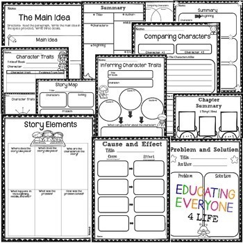 Graphic Organizers For Reading