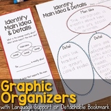 Graphic Organizers for Comprehension Skills & Strategies - Distance Learning