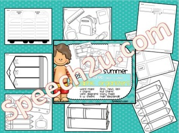 Graphic Organizers Across the Year Bundle