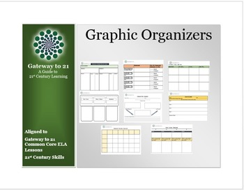 Graphic Organizers (Aligned to our Common Core ELA Literacy Strategies)