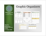 Graphic Organizers (Aligned to our Common Core ELA Literac