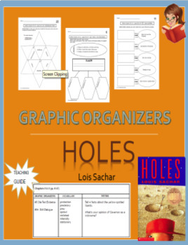 Graphic Organizers Aligned with Holes by Louis Sachar