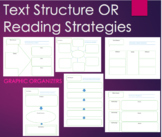 Graphic Organizers - Analyze Text Structure or use as a Cl