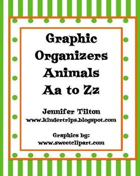 Graphic Organizers Animals Aa to Zz