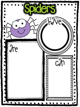 Graphic Organizers (Autumn) - KWL Charts, Have/Are/Can, and Circle Maps