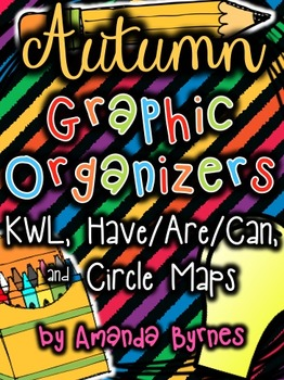 Graphic Organizers (Autumn) - KWL Charts, Have/Are/Can, an