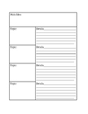 Graphic Organizers: Box Outline
