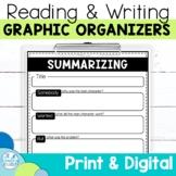 Graphic Organizers Bundle   Digital and Printable