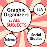 Graphic Organizers Bundle for All Subjects (35+)