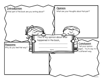 Narrative, Opinion and Explanatory Writing Graphic Organizers & Checklists