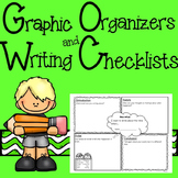 Narrative, Opinion and Explanatory Writing Graphic Organiz