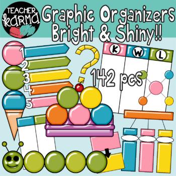 Graphic Organizers Clipart BUNDLE