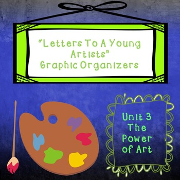 Graphic Organizers Code X Unit 3: Zebra and Letters To A Young Artist