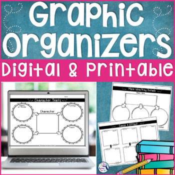 Reading Wonders Graphic Organizers - Common Core Aligned
