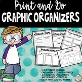 Graphic Organizers Common Core Aligned {31 Graphic Organizers}