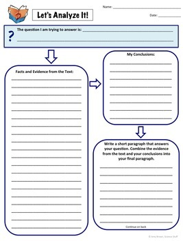 Graphic Organizers for Common Core Science and Technical Standards FREE!