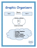 Graphic Organizers: Compare & Contrast, Sequence, Story Map, Character Analysis